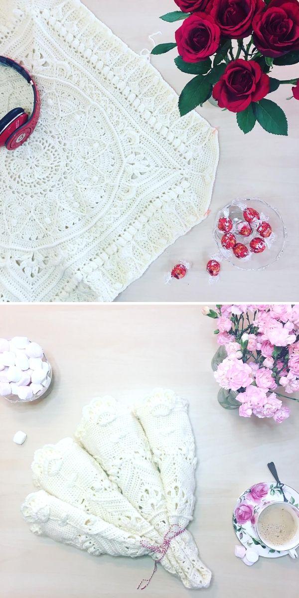 White Sophie's Universe Blanket