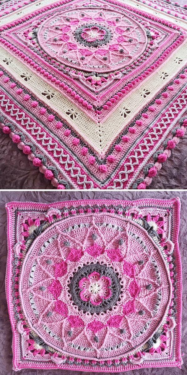 Pink Sophie's Universe Blanket