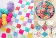 Battenberg Blanket Crochet Ideas
