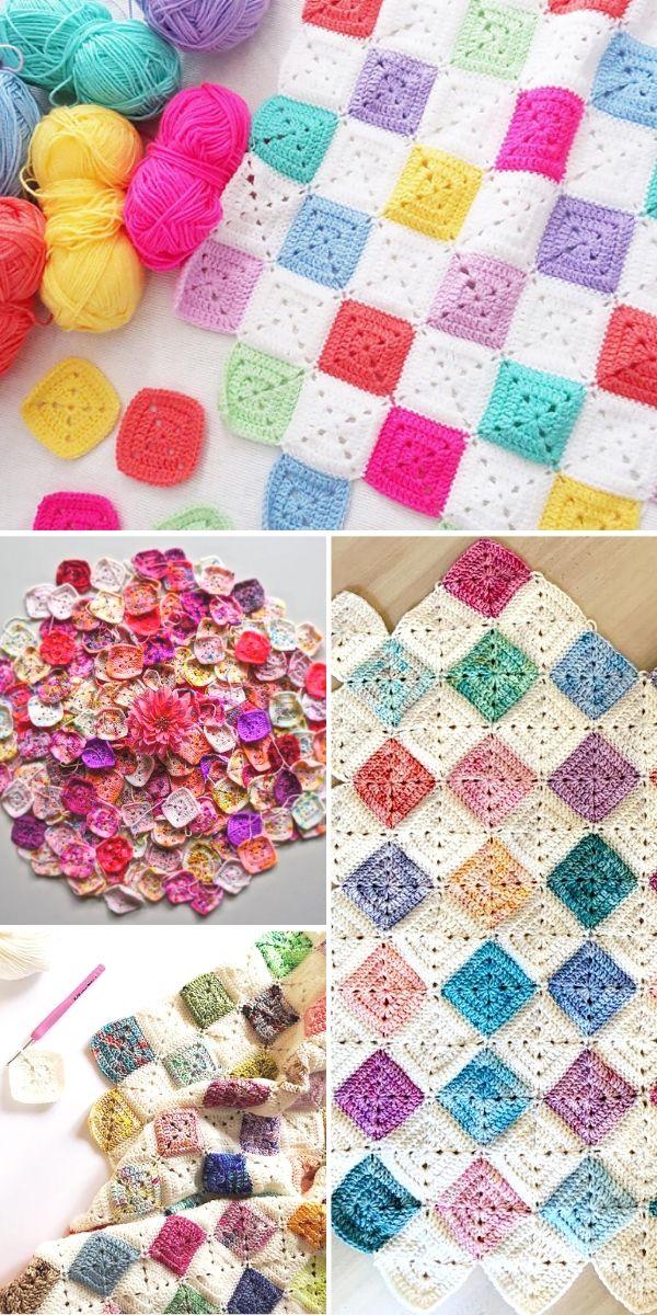 Battenberg Blanket Crochet Ideas