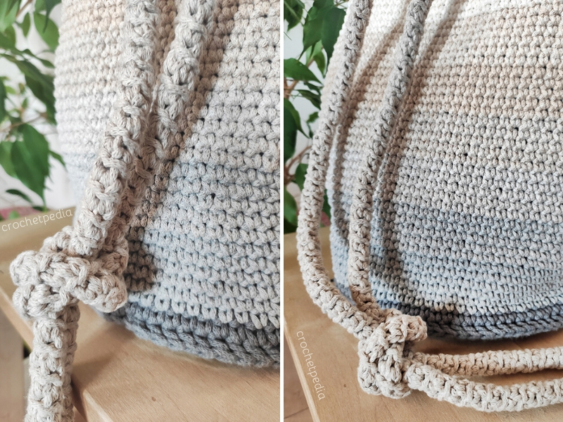 crochet string in the bag