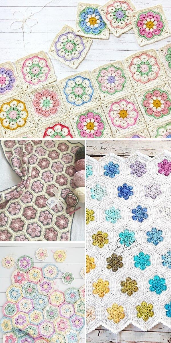 African Flower Crochet Ideas