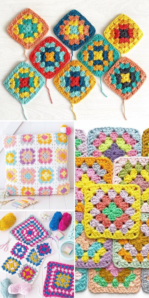 granny square crochet ideas