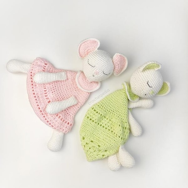 sleepy amigurumi toys