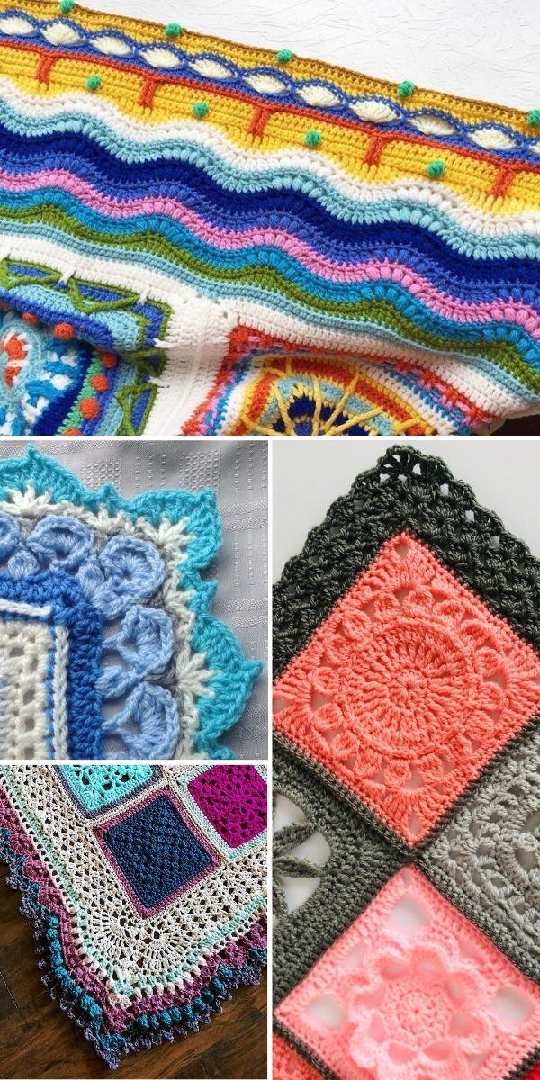 examples of crochet edgings