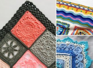 The Best Crochet Edgings