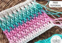 How to Crochet Alpine Stitch