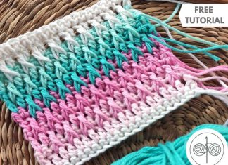 How to Crochet Alpine Stitch