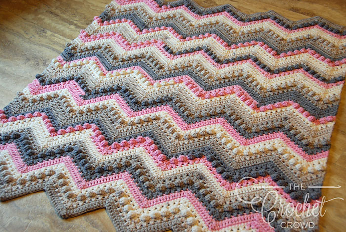 original colorway of the blanket
